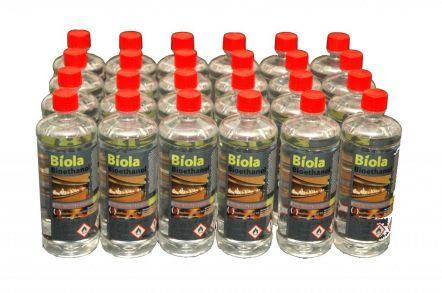 24 x 1L 'Biola' Premium Bioethanol Fuel